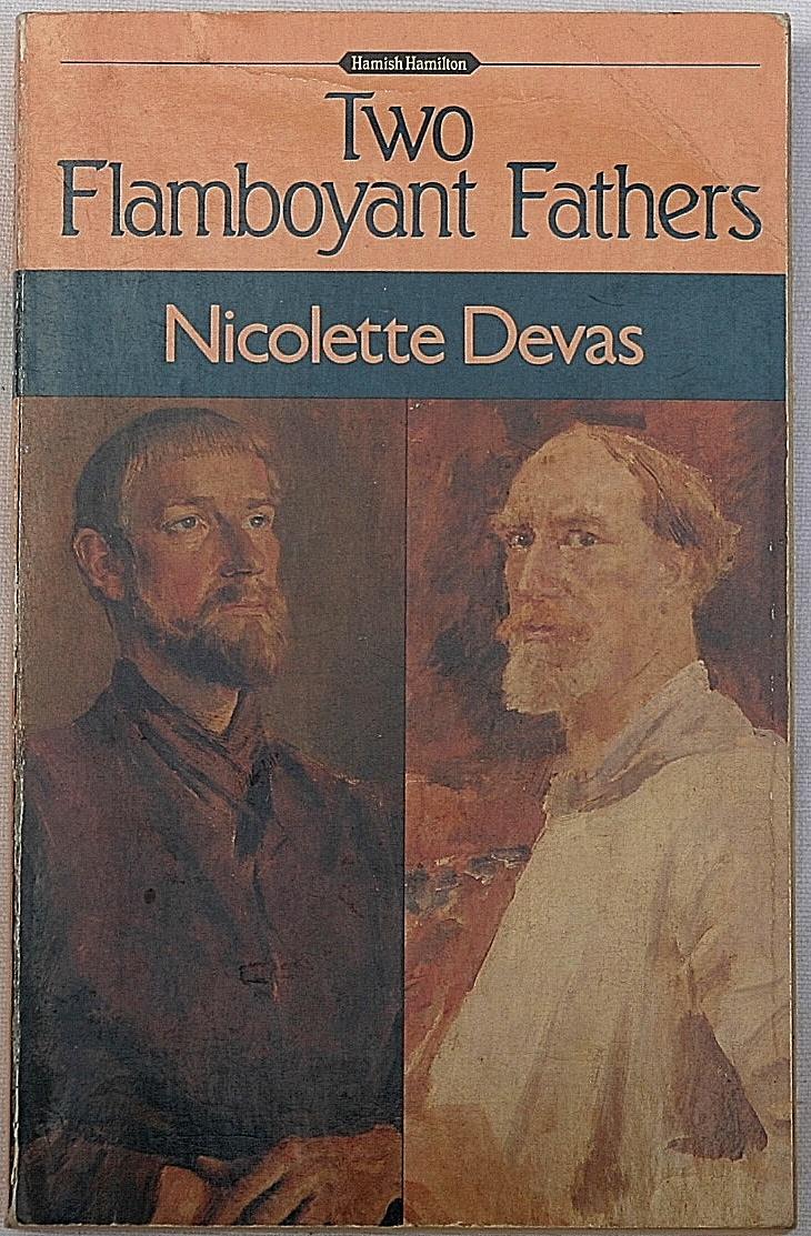 Two Flamboyant Fathers by Nicolette Devas